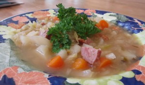 cabbagesoup1 300x175 Irena's Peasant Cabbage Soup – made easy with electric pressure cooker!