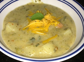 soup Hearty Potato Soup, loaded with nutrition