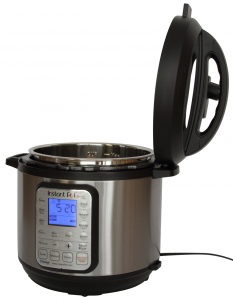 IP Smart right lid holder1 233x300 Announcing the General Availability of the Worlds First Bluetooth® Smartcooker: Instant Pot Smart