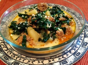 Kale, Sausage, Potato Soup RECIPE