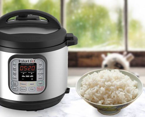 How to cook perfect rice in an electric pressure cooker - Instant Pot