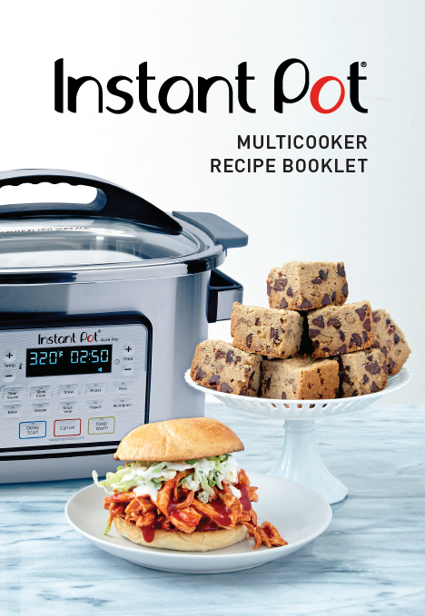 Recipe Booklet Instant Pot