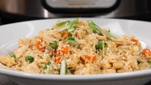 Instant pot recipes chicken fried rice